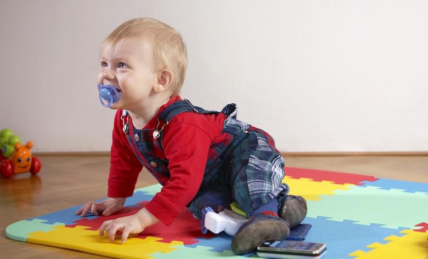 Pěnové puzzle a pěnové koberce pro malé děti