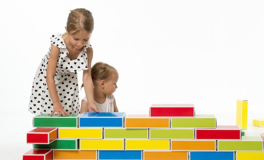 Buntbox Colour Bricks: Barevné cihly pro malé stavitele.